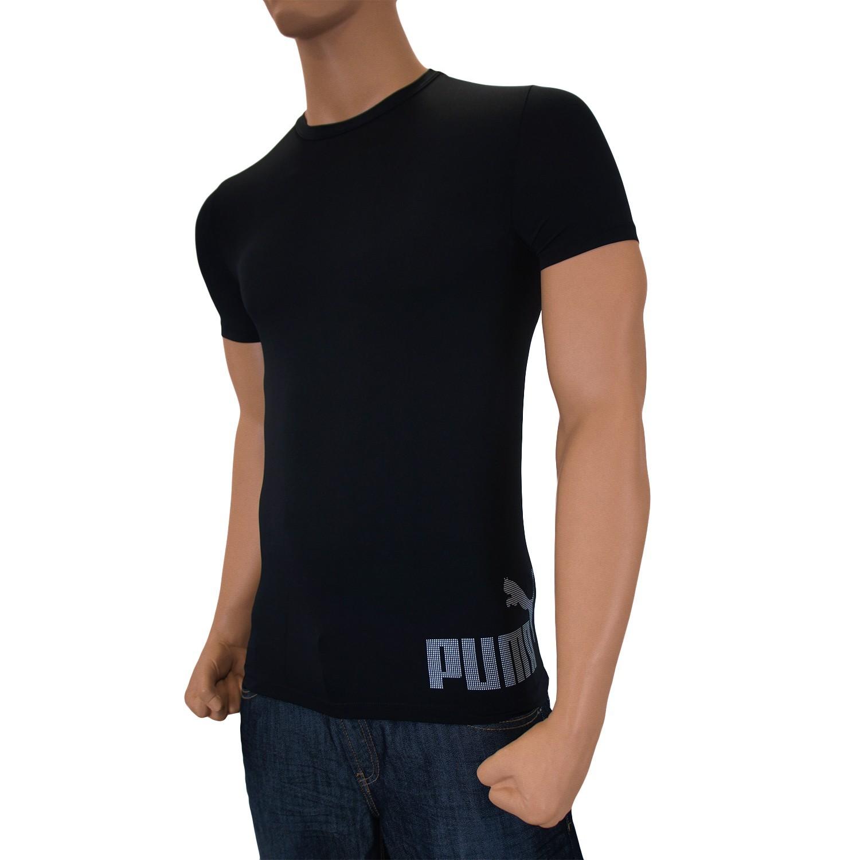 t shirt puma noir vente t shirt manches courtes homme. Black Bedroom Furniture Sets. Home Design Ideas