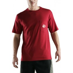 T-shirt Christian Cane Wave rouge