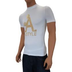 T-shirt A-Style écru - ref : BB80D242 100