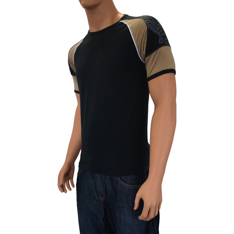 t shirt hiromi noir vente t shirt manches courtes homme. Black Bedroom Furniture Sets. Home Design Ideas