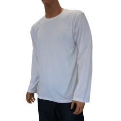 T-shirt Coton Bio blanc - ref :  1466 001