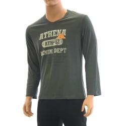Pyjama Dénim gris - ref :  7F02 6527