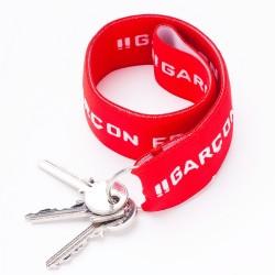 Porte-clés rouge - ref :  GFPC ROUGE