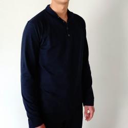 T-shirt Gibson - ref : HAUT PYJ GIBS BLEU