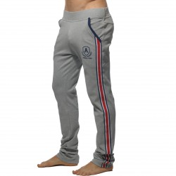Pantalon tight Intercotton gris - ref : AD335 HEATHER GREY C11