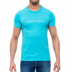 Le T-Shirt turquoise - ref :  GFT TURQUOISE