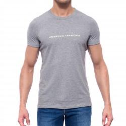 Le T-Shirt gris chiné - ref :  GFT GRIS