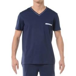 T-shirt ORIGINS marine - ref : 360128 00RA