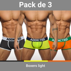 Lot de 3 boxers Light - ref : AD403P