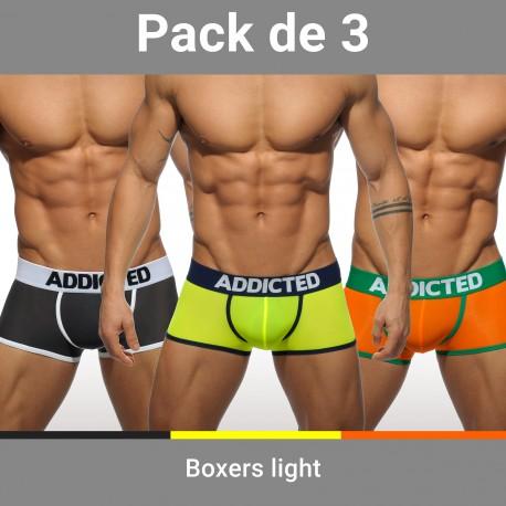 Lot de 3 boxers Light - ref :  AD403P