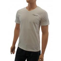 acheter-des-articles-de-mode-pour-homme-Kaporal-T-shirt Kaporal V-Neck blanc - T-shirt manches courtes