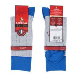 Chaussettes Ajourées talon pointe gris clair - LABONAL 34374 3400