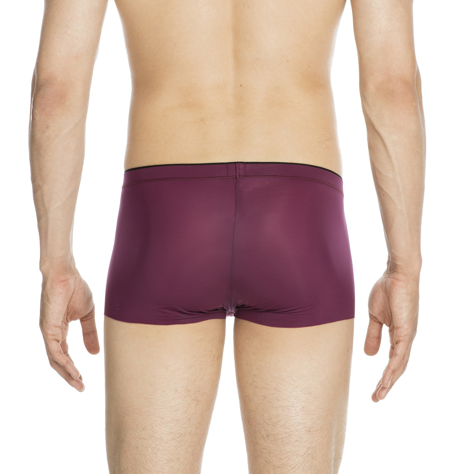 trunk push up plume aubergine hom vente shorty boxers. Black Bedroom Furniture Sets. Home Design Ideas