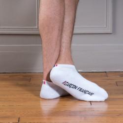 Mini-socquettes blanches - GARÇON FRANÇAIS GFSQ BLANC