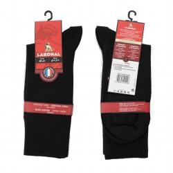 Mi-Chaussette Laine noire - LABONAL 38783 8000