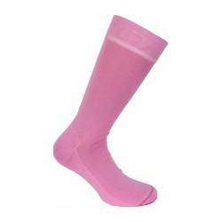 Mi-chaussettes unies, semelle double rose - LABONAL 11110 9430
