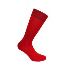 Mi-chaussettes unies, semelle double rouge - LABONAL 11110 9000