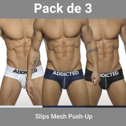 Lot de 3 Slips Push up