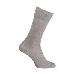 Chaussettes - Unie moulinée coton - gris
