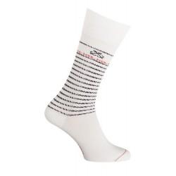 Chaussettes rayées blanc - 34578 7000