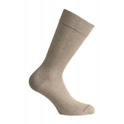 Chaussettes - UNIE JERSEY LIN - taupe