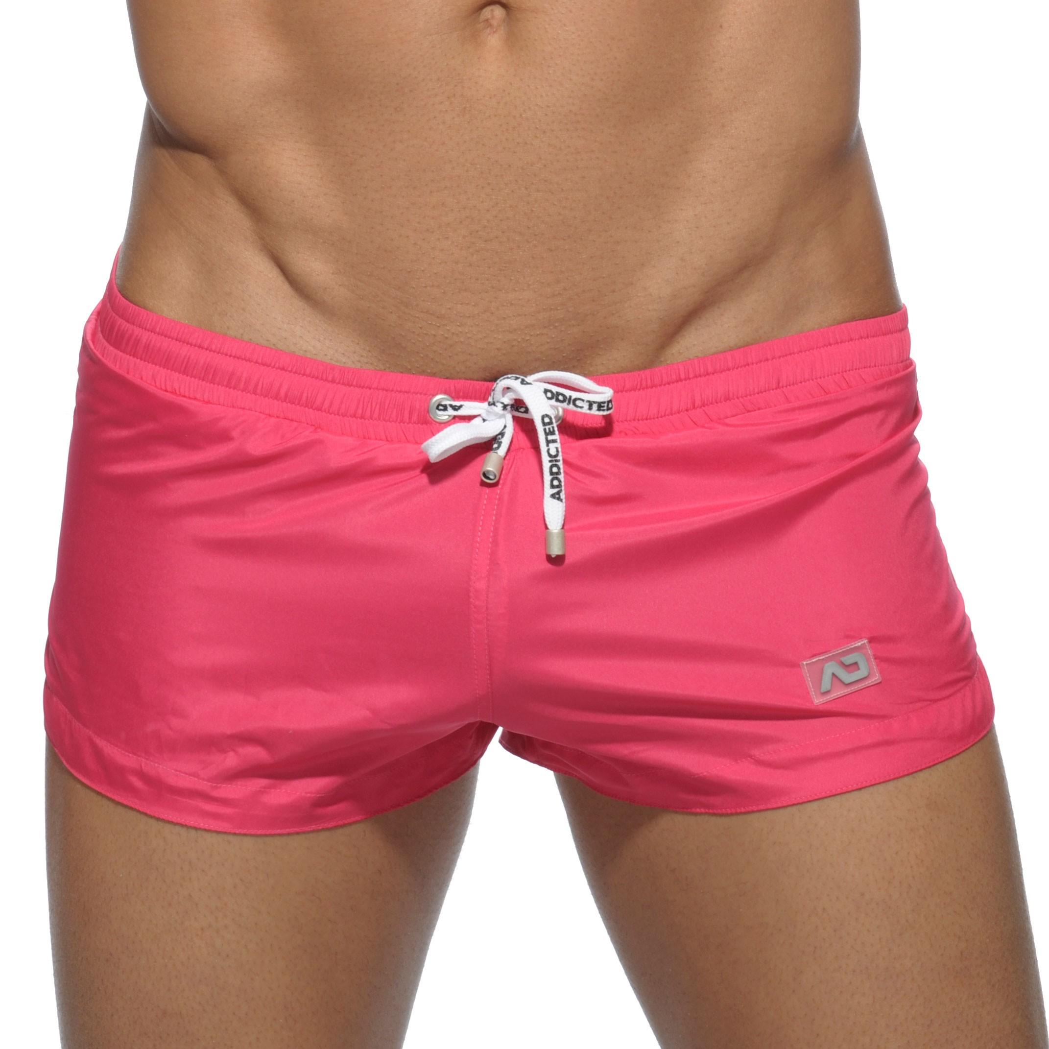 95230ac9ef405 Mini bath shorts basic pink - ADDICTED : sale of Bath Shorts for me...