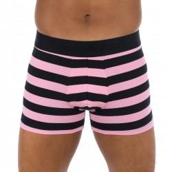 Pink Striped Boxer Shorts