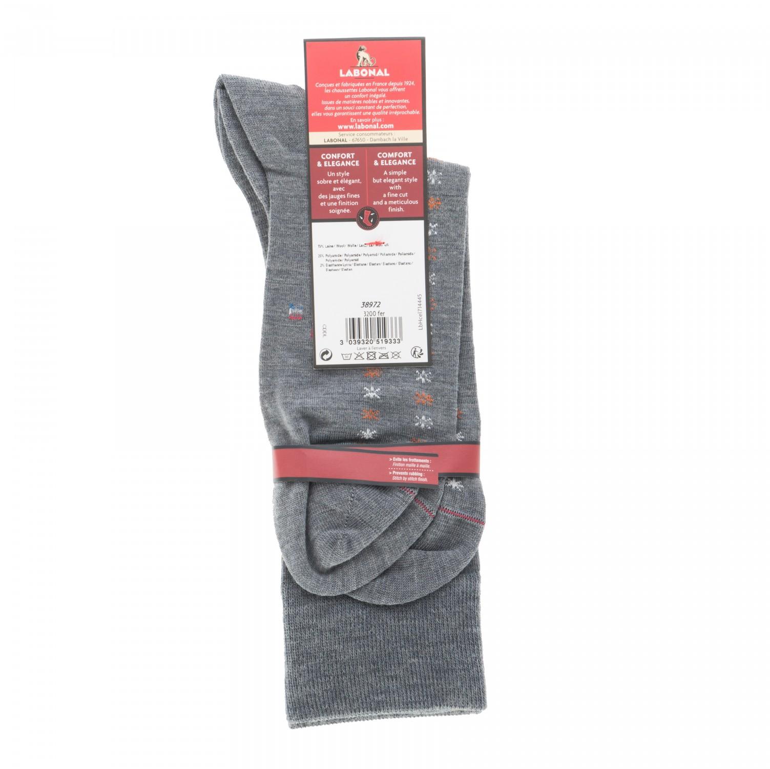 mi chaussettes semis toiles laine sans couture fer labonal. Black Bedroom Furniture Sets. Home Design Ideas