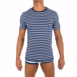 T-Shirt marin bleu - BLUEBUCK TS-NWS