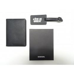 Pochette Passeport Diesel Noir