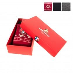 b4e0f0594fe9f Coffret Chaussettes Noël - Rouge & Gris... Labonal. Coffret de 3 paires ...