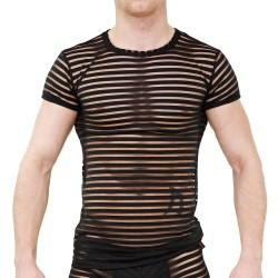 T-shirt Apollon Noir - TOF PARIS TS00025PN