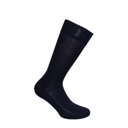 Mi-chaussettes unies, semelle double marine - LABONAL *11110 1000