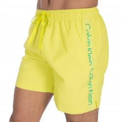 Short de bain médium Drawstring jaune - CALVIN KLEIN KM0KM00169 311