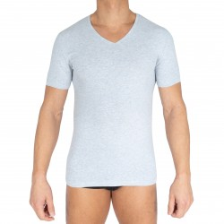 T-shirt COTTON ORGANIC - gris