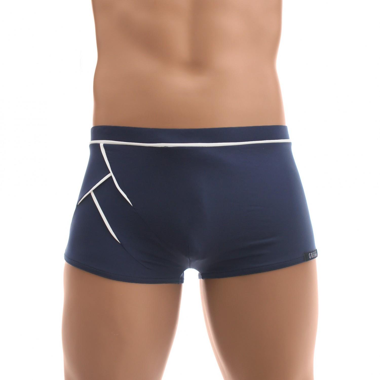 0f59767fe9 acheter des maillots de bain pour homme Gregg - Shorty de bain D-LIGHT navy  ...