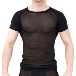 T-shirt Adonis Noir - TOF PARIS TS00024PAN