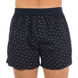 Micro pattern bow tie shorts