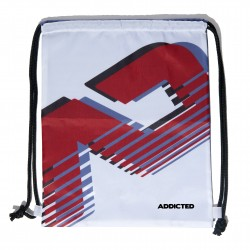 Backpack addicted white