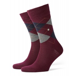 Chaussettes Edinburgh - marine/gris/bordeaux - BURLINGTON 21182-8104