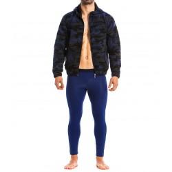 Sweat à capuche Jock - camo bleu - MODUS VIVENDI 17851-BLUE