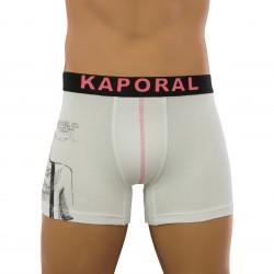acheter des sous-vetements ou des accessoires Kaporal - Boxer Tatoo blanc - boxers - shortys