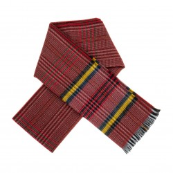 venduto in tutto il mondo marchio famoso materiali di alta qualità Sciarpa rossa scozzese
