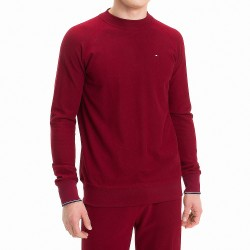 Sweat en molleton - rouge