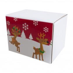 Coffret Chaussettes Fantaisie Reine et Cadeau - LABONAL 34803-RED