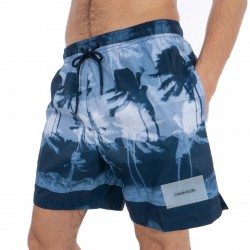 Short de bain Medium Drawstring Hurricane - CALVIN KLEIN KM0KM00282-440