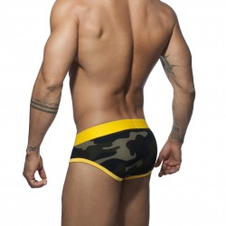 Slip Stripe camo - jaune - ADDICTED AD764 C03