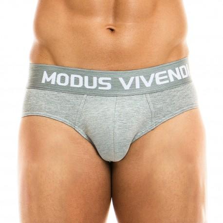 Slip Classic - gris - MODUS VIVENDI 02915-GREY
