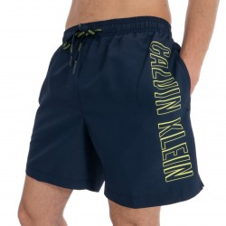 Medium Drawstring Swim Shorts - navy - CALVIN KLEIN *KM0KM00291-445