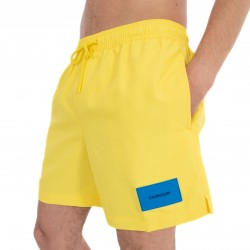 Short de bain Medium Drawstring - Golden Kiwi - CALVIN KLEIN *KM0KM00296-705